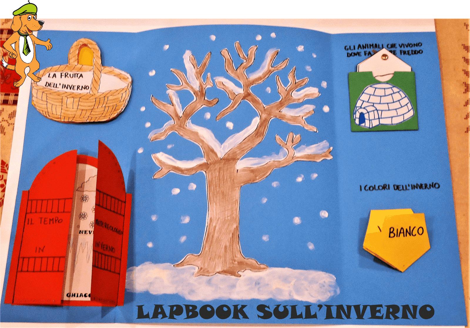 A Scuola Con Poldo Un Lapbook Sull Inverno
