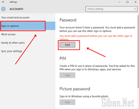 Cara Buat Password di Pc Komputer windows 10 Enterprise