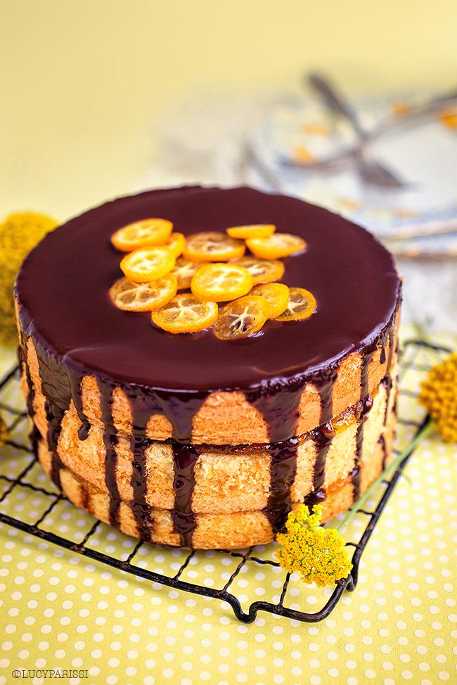 Jaffa Cake Birthday Cake