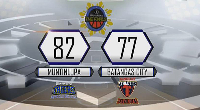Muntinlupa Cagers def. Batangas City Athletics, 82-77 (REPLAY VIDEO) MPBL Finals Game 3 | April 17