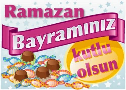 ramazan bayramı resmi /resimli kutlama mesajları sözleri