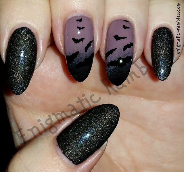 Stamped-Halloween-Bat-Bats-Nails-Nail-Art-Gothic-Collection-04