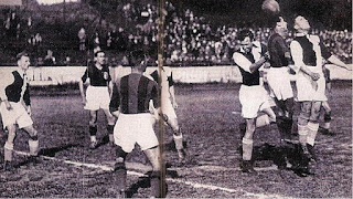 Lille, 3 giugno 1937, Bologna - Slavia Praga 2-0.