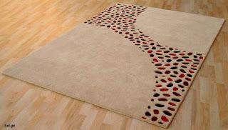 Alfombra lana y piel lotox, alfombra lana