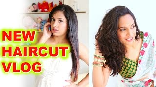 NEW Haircut Indian vLog | A Day In My Life