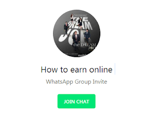 How to earn online WhatsApp Group Link ( May 2018 )