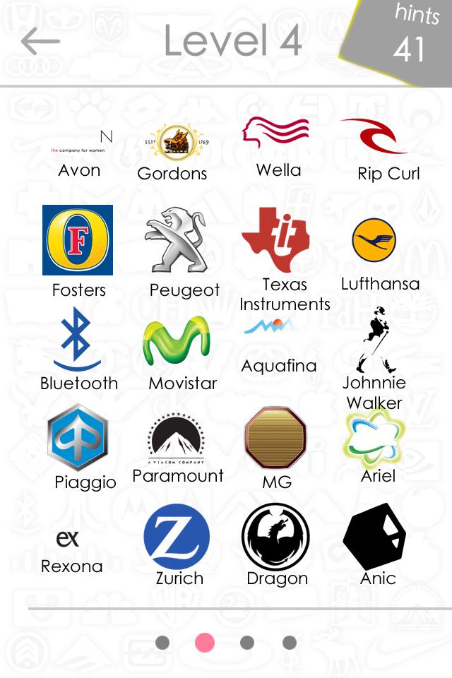 Level 4 Logos Qu...B Logo Quiz Answers