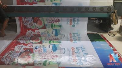 In Bạt Hiflex Giá rẻ làm cờ phướn, băng rôn quảng cáo