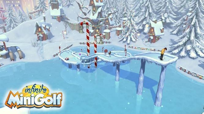 infinite minigolf gameplay screenshot2017