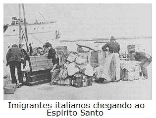 Image result for imigraçao italiana ao brasil
