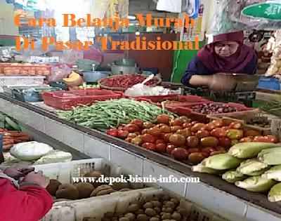 Tips, Cara, Belanja, Murah, Di, Pasar, Tradisional