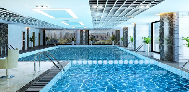 Bể bơi 4 mùa dự án FLORENCE Trần Hữ Dực