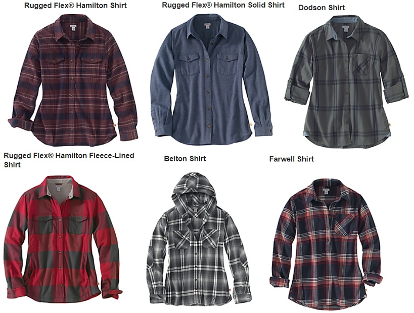 5f9d4bb59f1 Flannel Shirts for Women