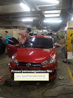 Pasang Kaca film mobil Toyota Yaris TRD Mura