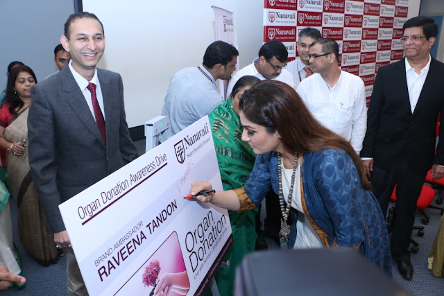Raveena Tandon joins cause with NSSH as brand ambassador for organ donation awareness