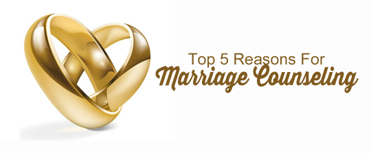 Reasons for Marriage Counseling