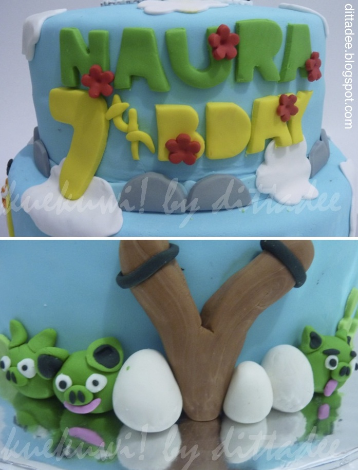 Kuekuwi By Dittadee Angry Birds Cake And Cupcakes