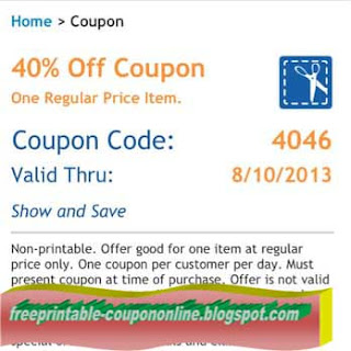 Free Printable Hobby Lobby Coupon