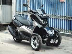 Modifikasi Gila Yamaha NMAX Bikin Tersihir Yang Melihatnya