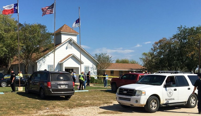 mass shooting first baptist church texas