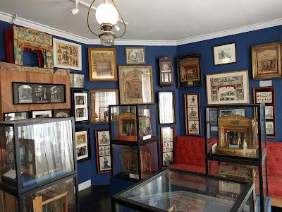 Игрушечный театр в музее Поллока