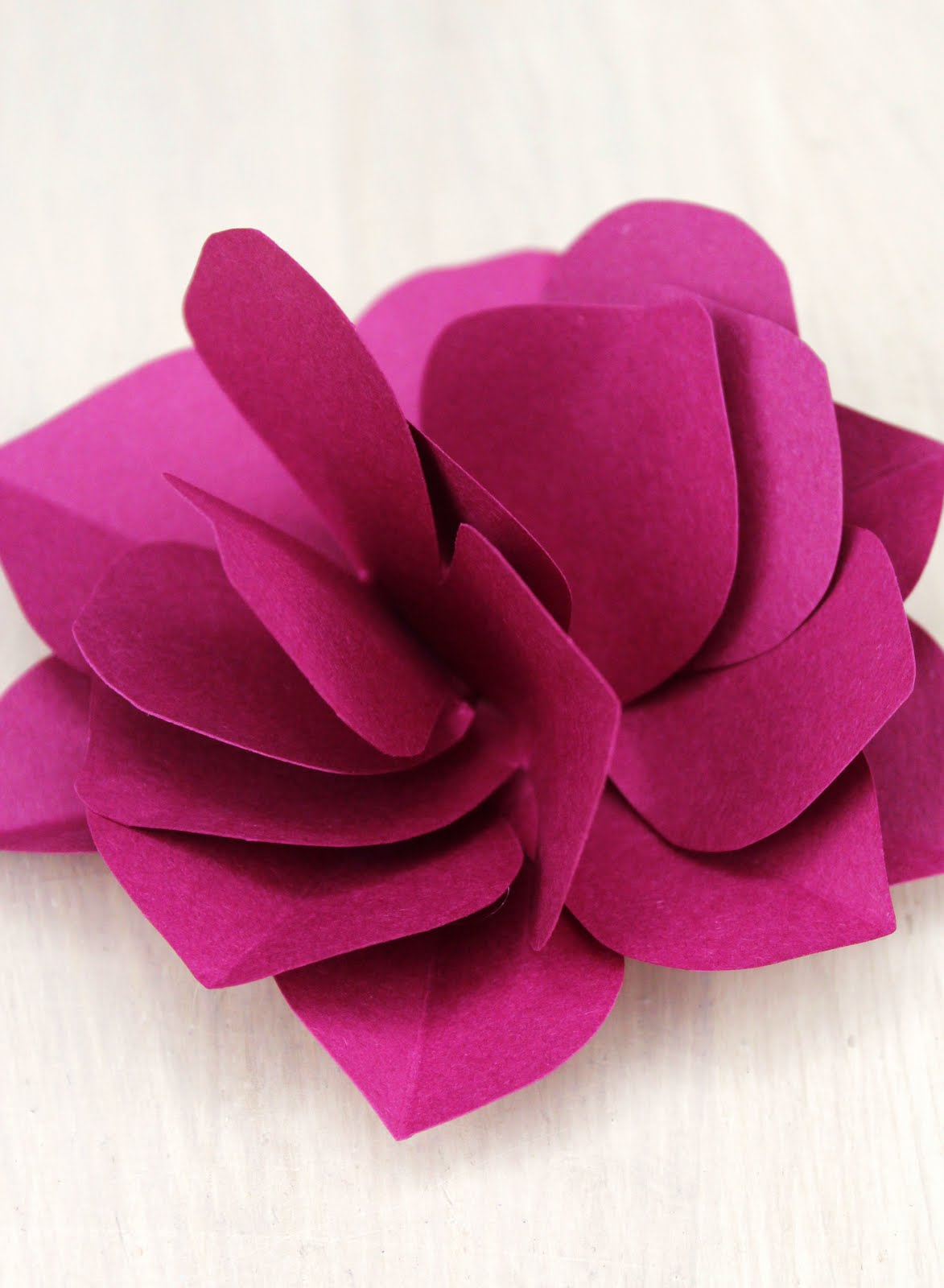 Diy Paper Flowers on Flower Template To Color