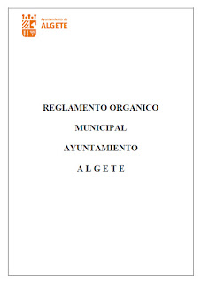 Reglamento Orgánico Municipal de Algete