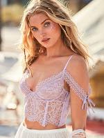 Elsa Hosk sexiest model photoshoot for Victoria's Secret Lingerie