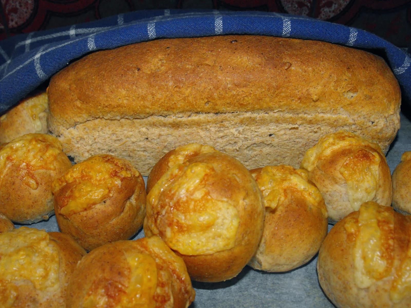 Glädje i hjärtat, hemmagjort bröd,