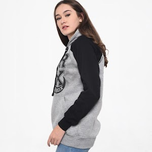 CBR Six ISC 377 Couple Sweater Wanita - Abu