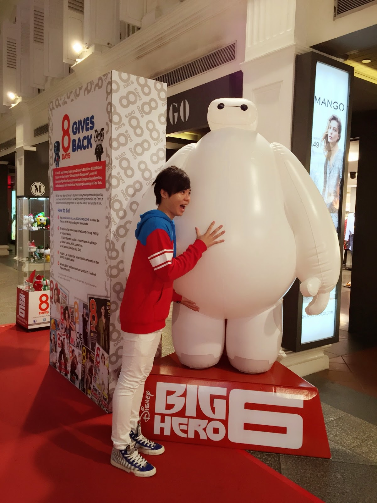 Big Hero 6 - Baymax with Evilbean