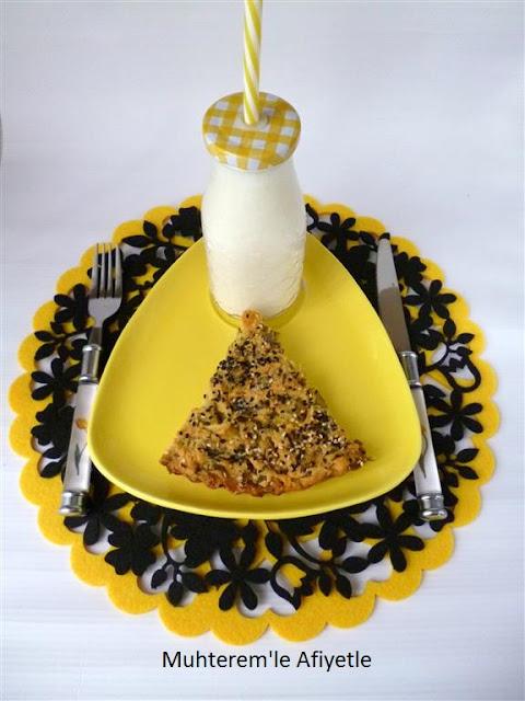 pırasalı tuzlu kek