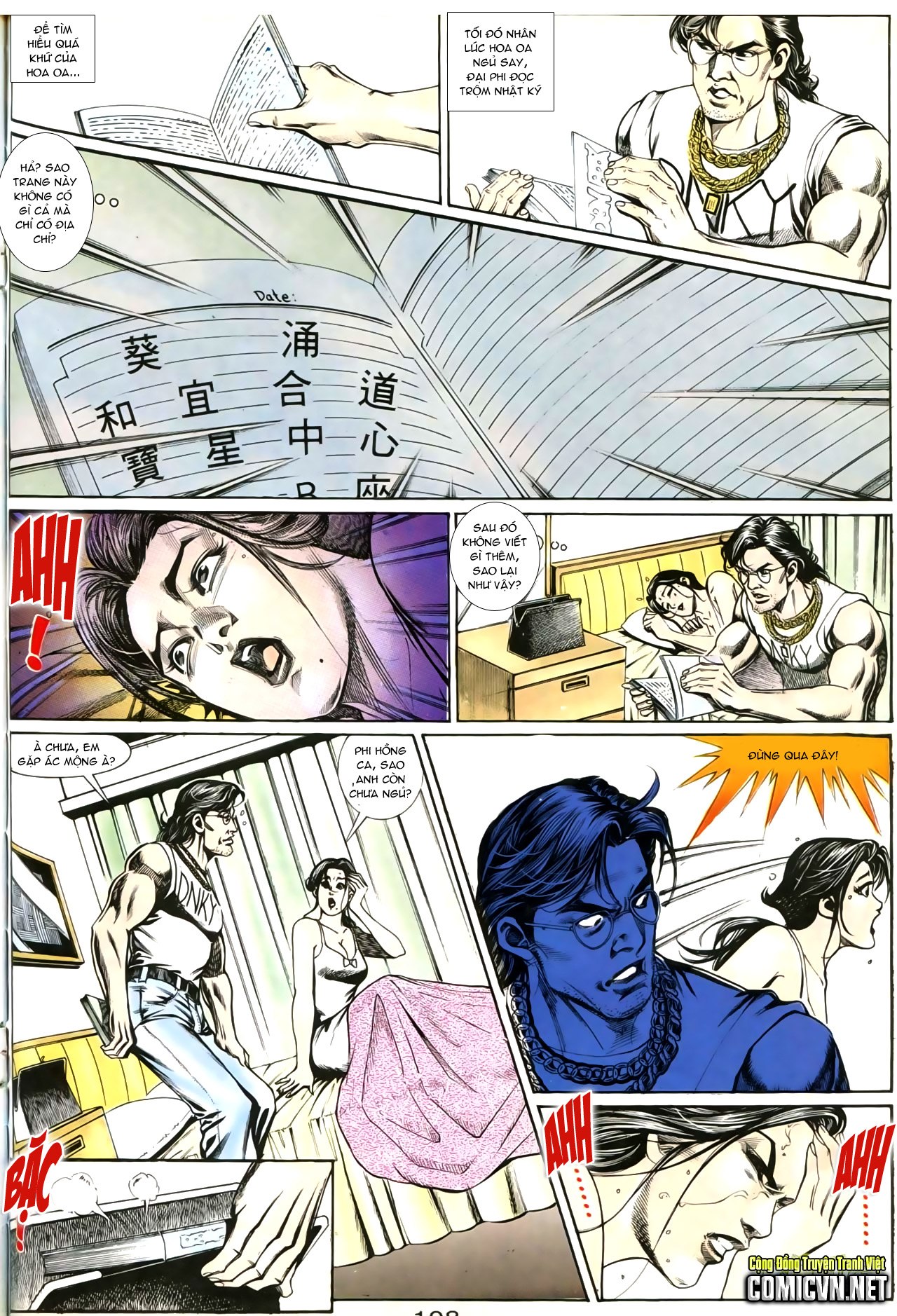 Người Trong Giang Hồ chapter 207: nhật ký đau lòng trang 3