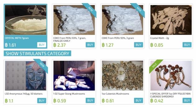 situs yang menjual narkoba di dalam deep web
