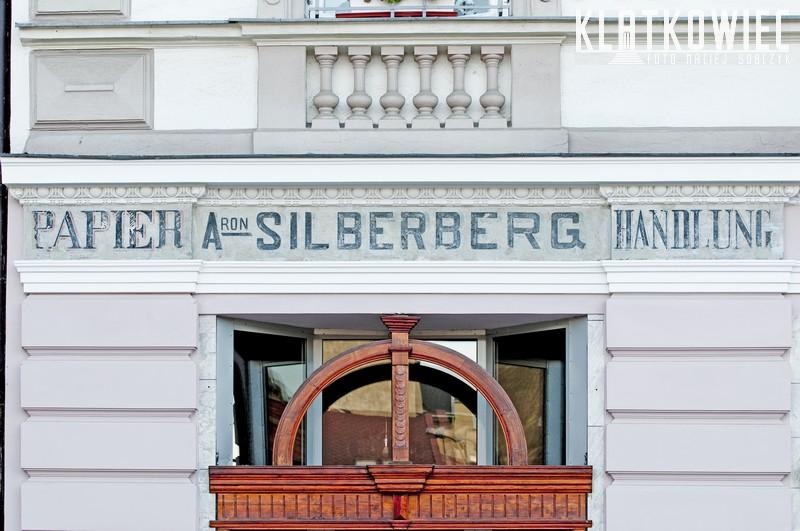 Bielsko-Biała: Aron Silberberg. Papier Handlung.