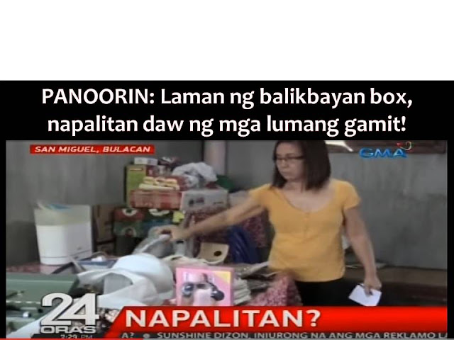 Excitement turns into dismay, frustration, and anger of one family in Bulacan when they discovered what is inside of the balikbayan box they been waiting.  According to GMA News, the family of OFW, Joan Villacorta was very happy and excited when the balikbayan box from her arrived in Bulacan from Qatar.  The family is expecting to receive smart watch and perfumes for family members and friends.