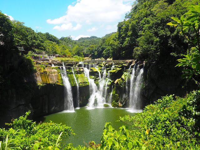Shifen waterfall, near Taipei, Taiwan