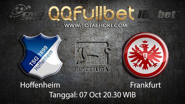 Prediksi Bola Jitu Hoffenheim vs Frankfurt 7 Oktober 2018 ( German Bundesliga )
