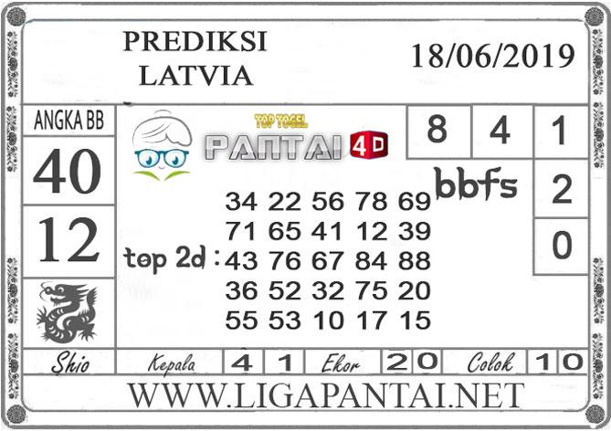 """PREDIKSI TOGEL """"LATVIA"""" PANTAI4D 18 JUNI 2019"""