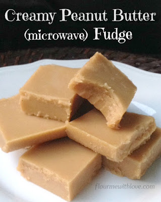 Creamy-Peanut-Butter-Fudge-made-in-the-microwave