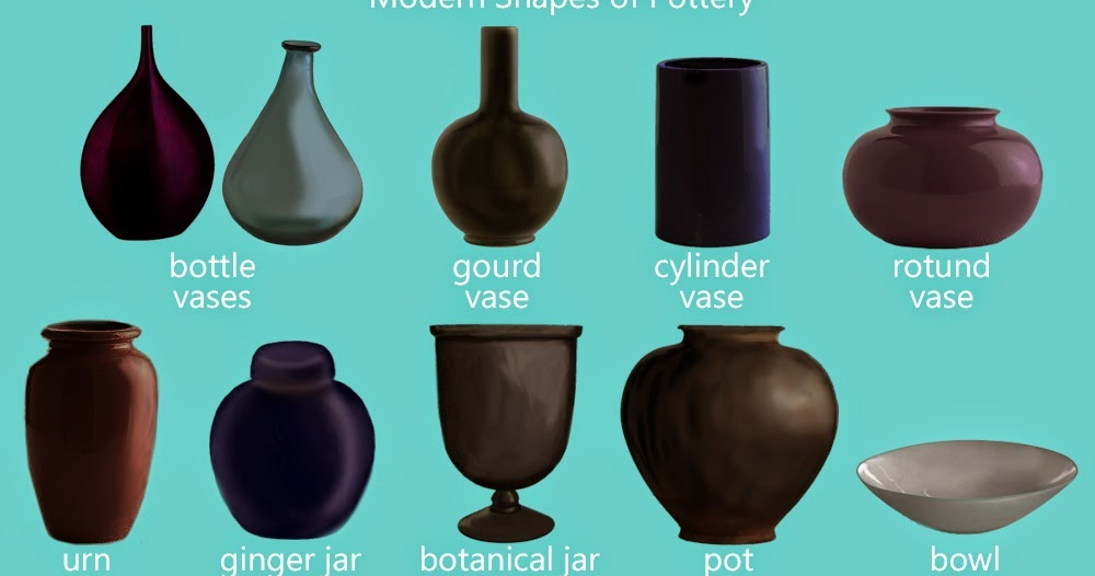 Jess The Miscellaneous Pottery And Vase Shapes