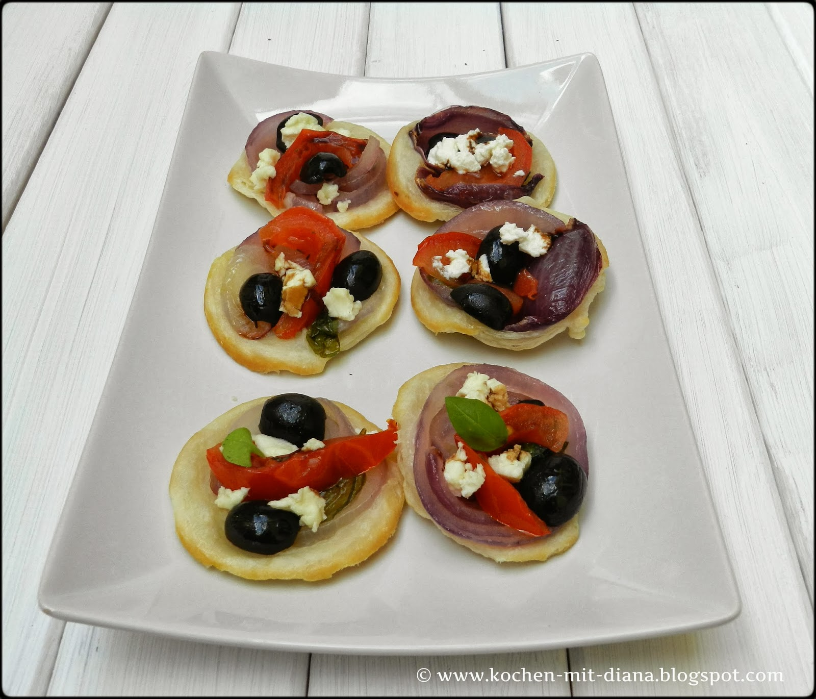 Mini-Zwiebel-Tarts
