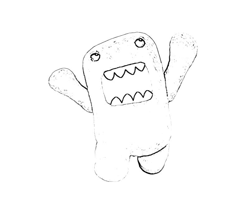 Domo Coloring Pages - ClipArt Best | 667x800