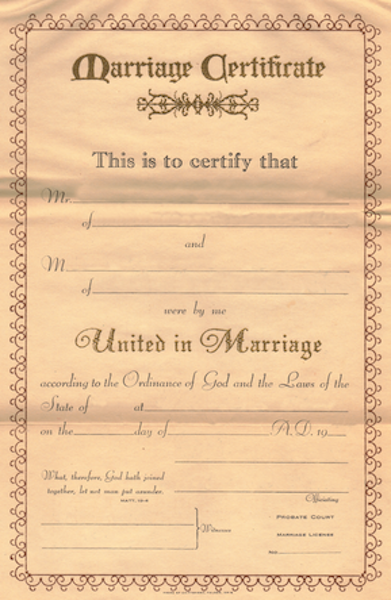 Genealogy and Marriage Records