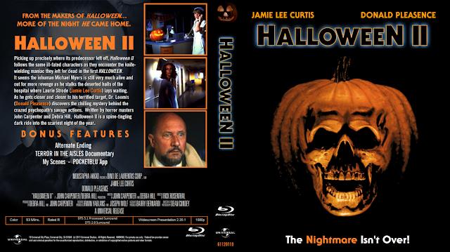 usa blu ray covers - Halloween 2 1981 Full Movie