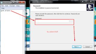 masukan password setup gsm.xraxx