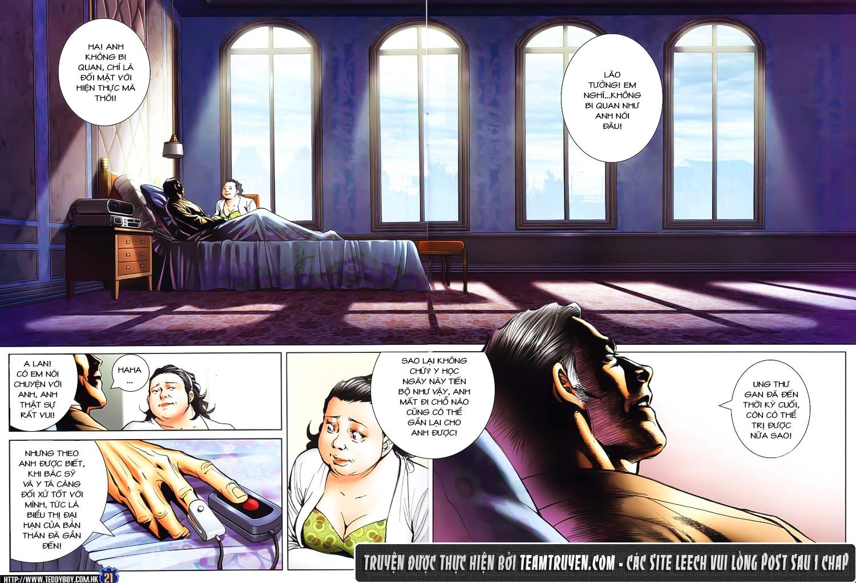 Người Trong Giang Hồ chapter 1611: đại hạn của tưởng thiên sinh trang 17