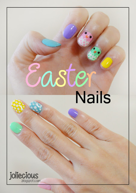 Easter Inspired Nails Tutorial