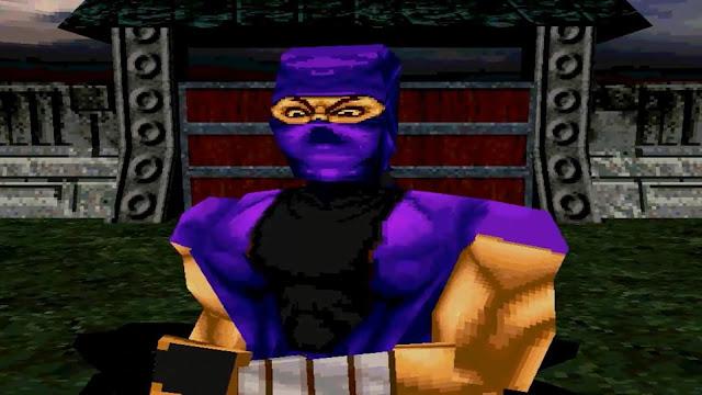 Ninja - Shadow of Darkness - PSX - Captura 1