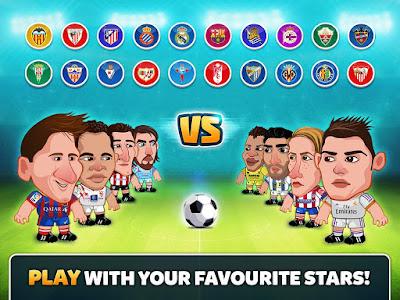 Head Soccer La Liga 2017 MOD v3.0.1 Apk Terbaru